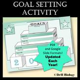 New Year 2018 Goal Setting Activity