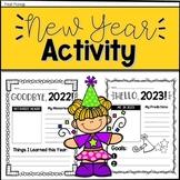New Year 2021 Goal-Setting Activity