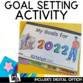 The New Year Goal Setting Activity for 2019 Growth Mindset Flipbook