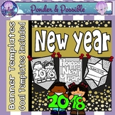 New Year & Goal Setting Banner Templates