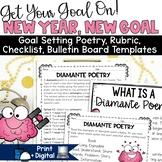 New Years Activities 2019 Goal Setting Bulletin Board