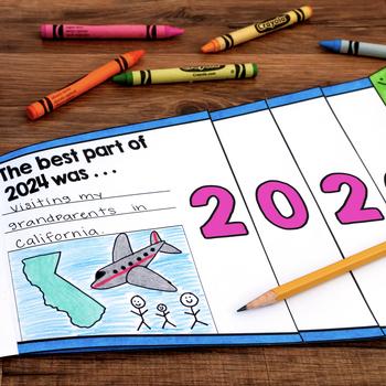New Years 2019 Goal Setting Flap Book