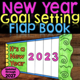New Year Activity 2019 Goal Setting Flap Book