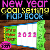 New Years 2020 Craft Goal Setting Flap Book | New Years Bulletin Board