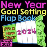 New Years 2021 Craft Goal Setting Flap Book | New Years Bu