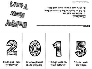 New Year Goals 2015