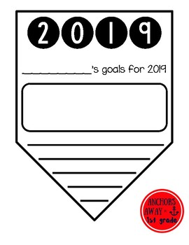 New Year Goals Banner - 2019