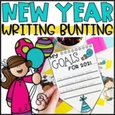New Year Goals Bunting Banner