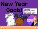 New Year Goals! (Craft/Bulletin Board Idea!)