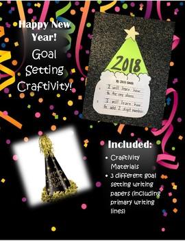 New Year Goals Craftivity
