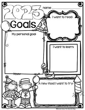 New Year's Goals Freebie