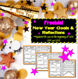 New Year Goals & Reflections Freebie