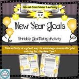 New Year Goals- SMART goals, SEL, Mental Wellness, Self Im