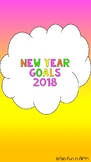 New Year Goals Scavenger Hunt