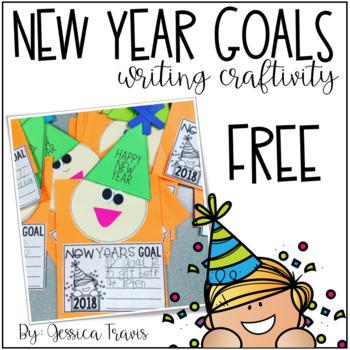 New Year Goals - Writing Craftivity