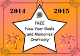 New Year Goals and Memories Craftivity (Freebie)