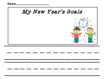 New Year Goals for Primary