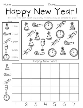 New Year Graphing Fun