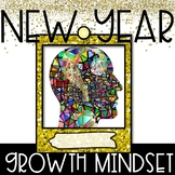 New Year Growth Mindset Activity, Posters, and Tasks