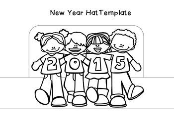 New Year Hat { freebie }