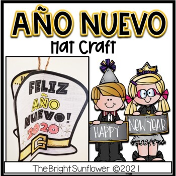 New Year Hat Craft in Spanish