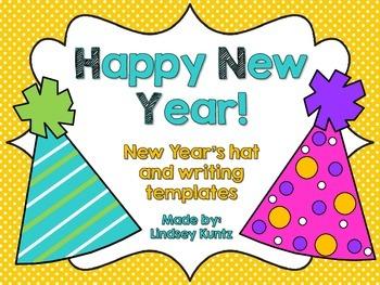 New Year Hat Craftivity
