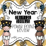 New Years Initial Sounds Review Power Point