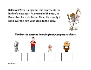 New Year Interactive Book