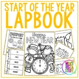 NEW YEAR LAPBOOK // 2020-2025 INCLUDED // INTERACTIVE NOTE