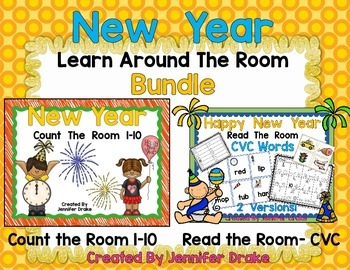 New Years Learn the Room Bundle