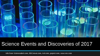 New Year Lesson. PowerPoint w/ videos of Science Events and Discoveries of 2017