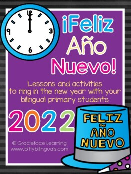 New Year Literacy Activities in Spanish – ¡Feliz año nuevo!