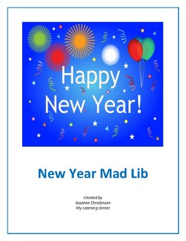 New Year Mad Lib