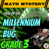 New Years Activity: 3rd Grade New Year Math Mystery