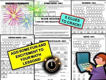 New Year's Math  Activity