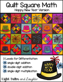 New Year Math Art - Quilt Square