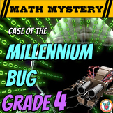 New Years Activity: 4th Grade New Year's Math Mystery