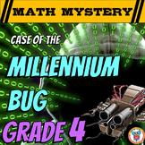 New Years Activity: 4th Grade New Year's Math Mystery