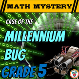 New Years 2018 Activity: 5th Grade New Year's Math Mystery