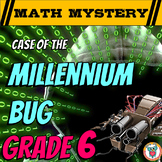 New Years Activity: 6th Grade New Years Math Mystery