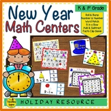 New Year Math Centers