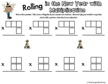 New Year Math: Multiplication