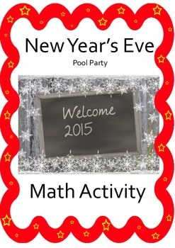 New Year Math Word Problems: The NYE Pool Party