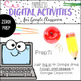 New Year 3rd Grade Math Review for Google Classroom
