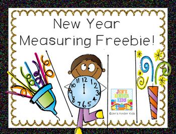 New Year Measuring **FREEBIE**