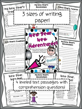 {{New Year, New Adventures Literacy Packet}}
