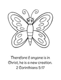 New Year New Creation Bible Lesson