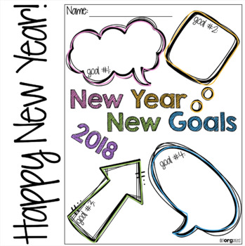 New Year New Goals Goal Setting