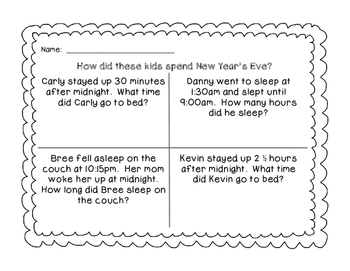 New Year, New Me Activities