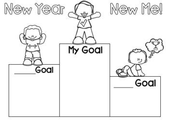 New Year, New Me Bulletin Board
